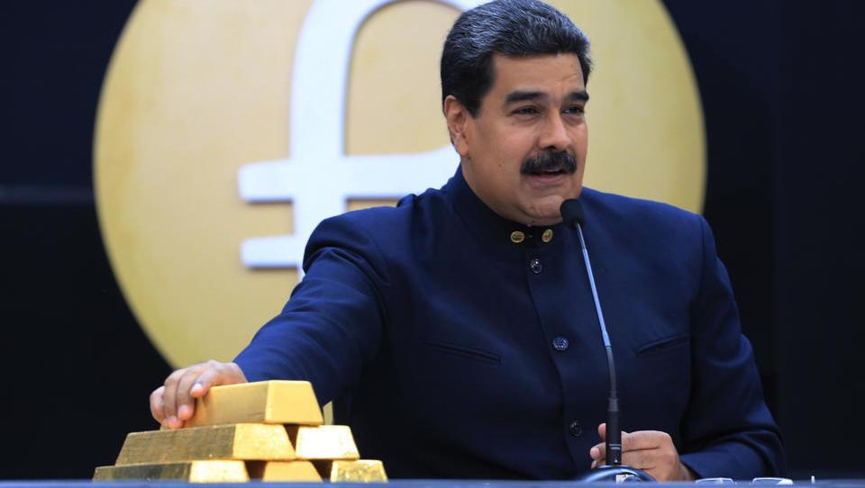 Deutsche Bank unsicher: Soll sie Venezuelas Gold der Regierung übergeben oder der Opposition?