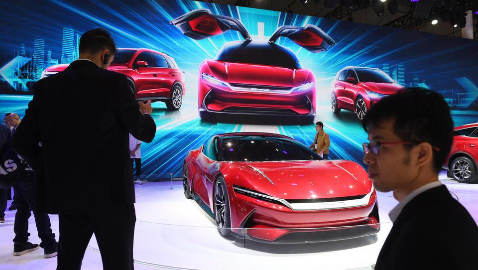 Schock für deutsche Hersteller: Autoabsatz in China bricht stark ein