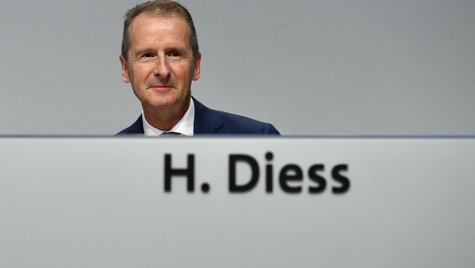 VW-Chef Diess fordert schnelleren Ausstieg aus der Kohlekraft