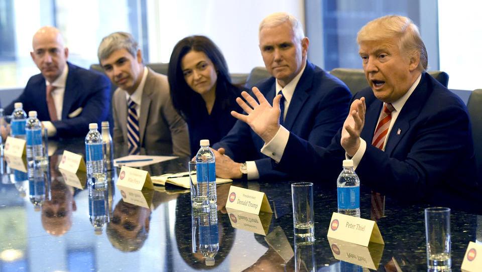 Panik im Silicon Valley: Trump leitet Ermittlungen gegen Tech-Giganten ein