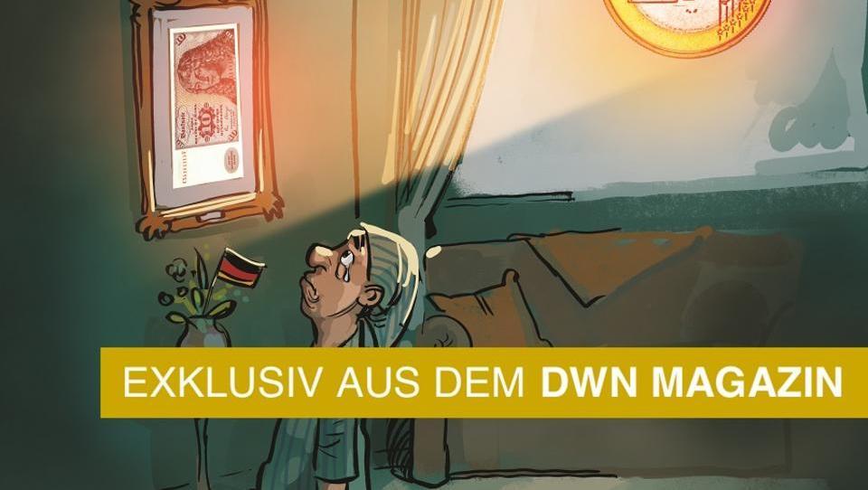 Mit der Deutschen Mark wäre die Bundesrepublik ein Industriestaat zweiter Klasse
