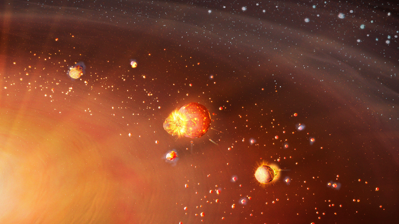 Durchbruch: Uni Bayreuth entwickelt neue Theorie zur Entstehung des Sonnensystems