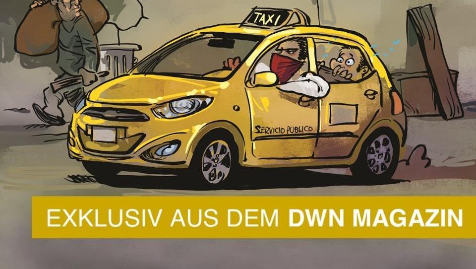 Kolumbien: Taxi-Kartell einmal anders