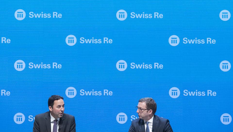 Swiss Re verdient massiv an Unfallversicherungen und an Finanzmärkten