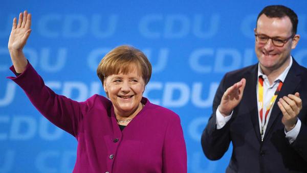 'Leute sind angewidert': CDU-Vize in Thüringen attackiert Merkel scharf