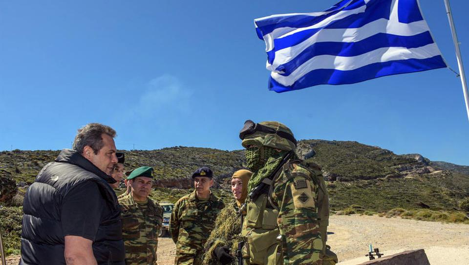 """""""Weil die Türkei unser Nachbar ist und nicht Dänemark"""": Griechenland verfünffacht Militärausgaben"""