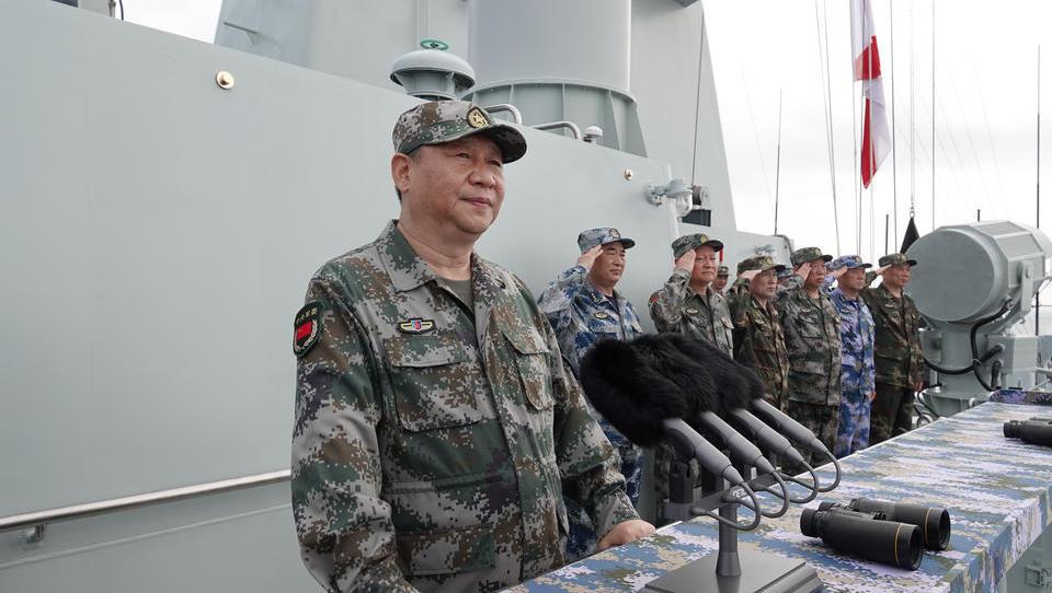 China reagiert mit großem Militär-Manöver auf Drohungen der USA