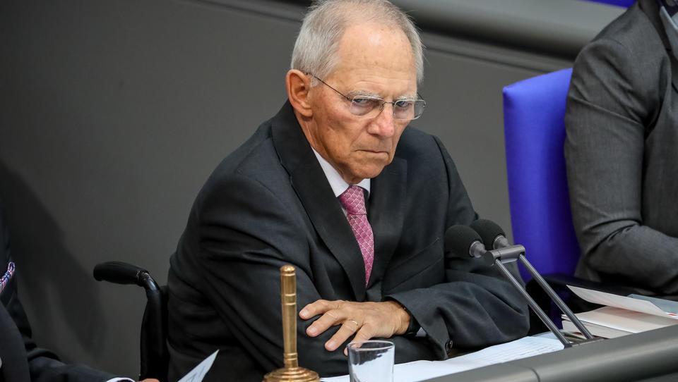 Schäuble wird unruhig: Landtagswahl-Ergebnisse kein Signal für die Bundestagswahl im Herbst