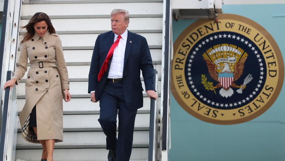 US-Präsident Trump und First Lady Melania positiv auf Coronavirus getestet
