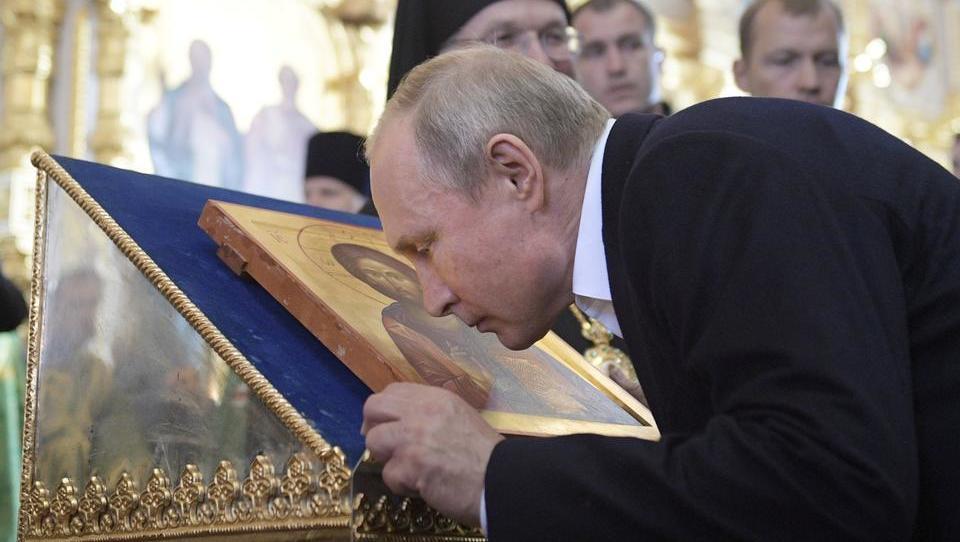 Die Feinde von Byzanz: Putin vergleicht NATO und USA mit Kreuzfahrern