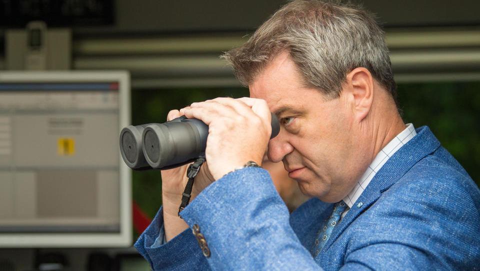 """Markus Söder warnt vor einer terroristischen """"Corona-RAF"""""""