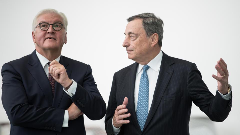 Heute in Schloss Bellevue: Mario Draghi erhält das Bundesverdienstkreuz