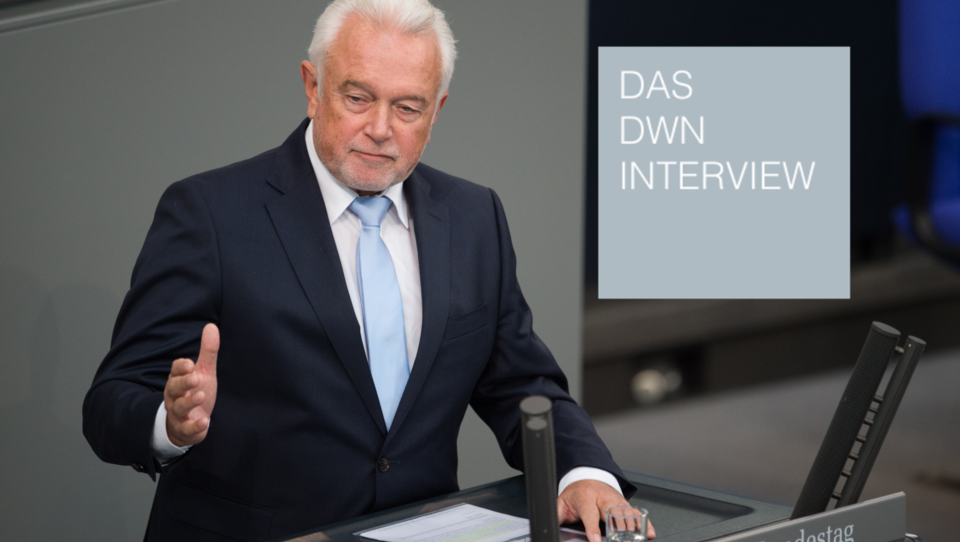 Im DWN-Interview: Wolfgang Kubicki spricht in Sachen Corona-Maßnahmen von