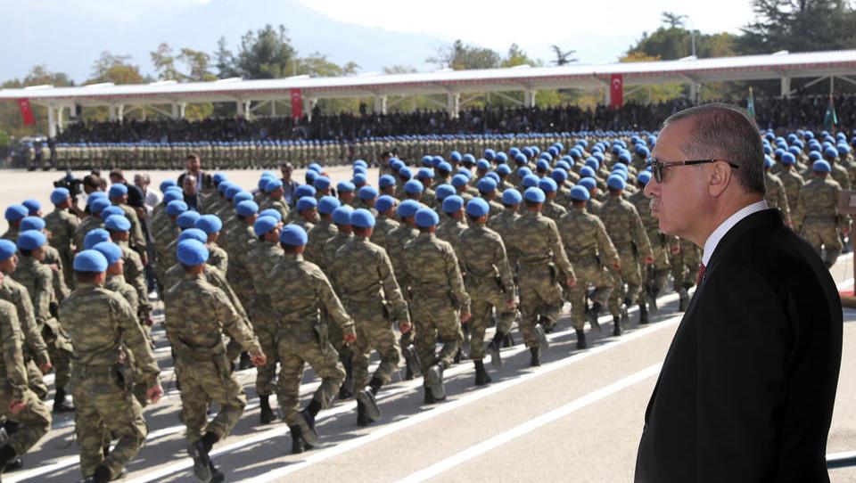 """Erdogan: """"Wir sind dazu verdammt, in Syrien einzugreifen"""""""