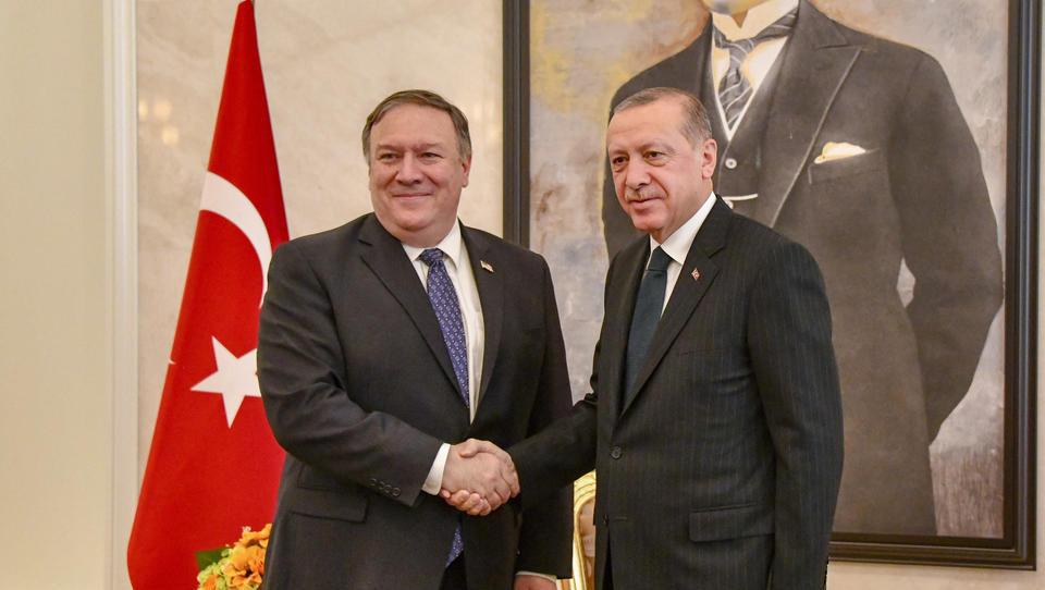 US-Außenminister Pompeo bedankt sich bei Erdogan für Corona-Hilfen