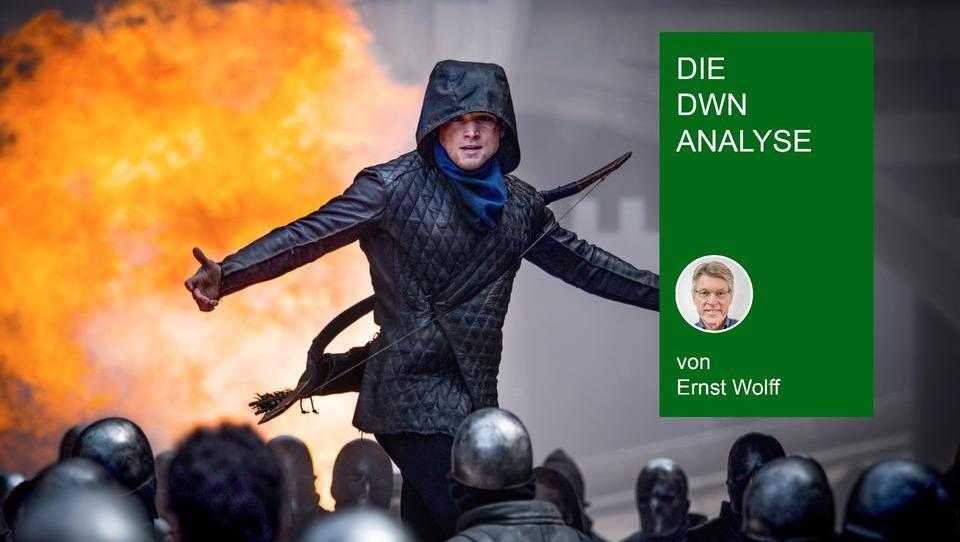 Ernst Wolff stellt richtig: Ein Massenaufstand war nie geplant - RobinHood hat seine Anhänger an die Hedgefonds verraten