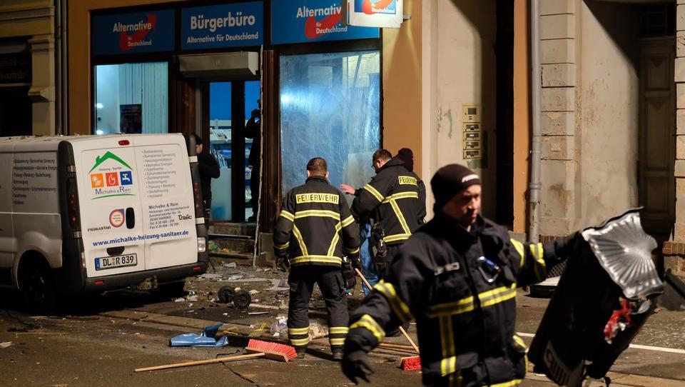 Zahl der Anschläge auf Häuser, Autos und Büros der AfD steigt deutlich