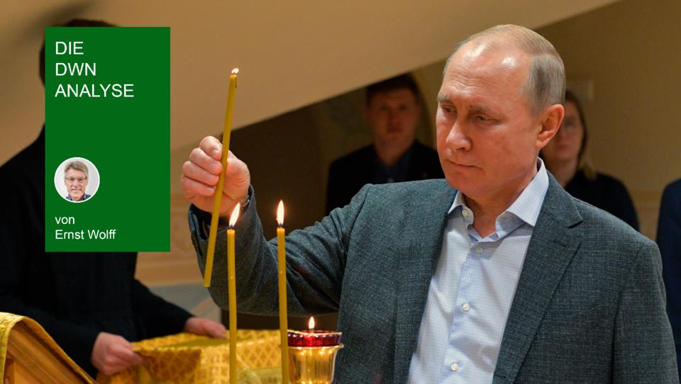 Putins wankelmütige Impf-Strategie: Muss er sich einer Macht beugen, die stärker ist als er?