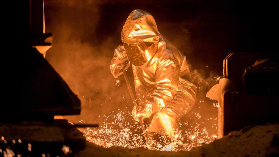 Zu wenig Aufträge: Stahlproduktion in Deutschland geht massiv zurück
