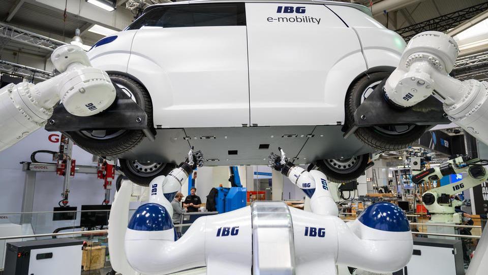 Deutschland macht bei Industrie 4.0 spürbare Fortschritte