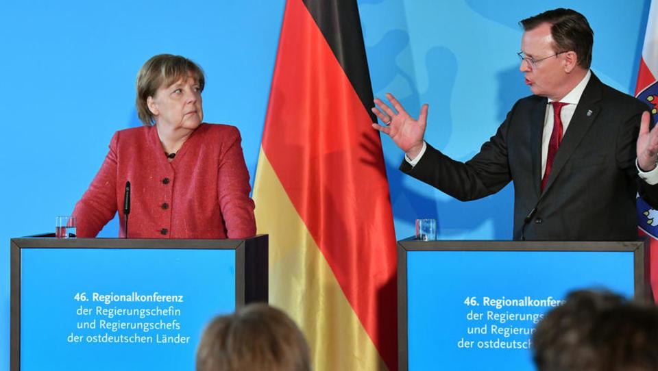 Der Corona-Ticker: Heftiger Streit um Thüringens Alleingang, Merkel sagt Sitzung des Kabinetts überraschend ab