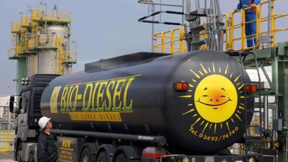 Trotz Klimazielen: Deutlicher Rückgang bei Nutzung von Biodiesel