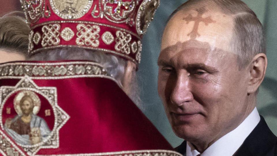 Doch kein Putin-Mosaik in russischer Militär-Kirche