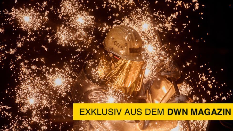 Deutscher Stahl: Auch heute noch das Rückgrat der Volkswirtschaft