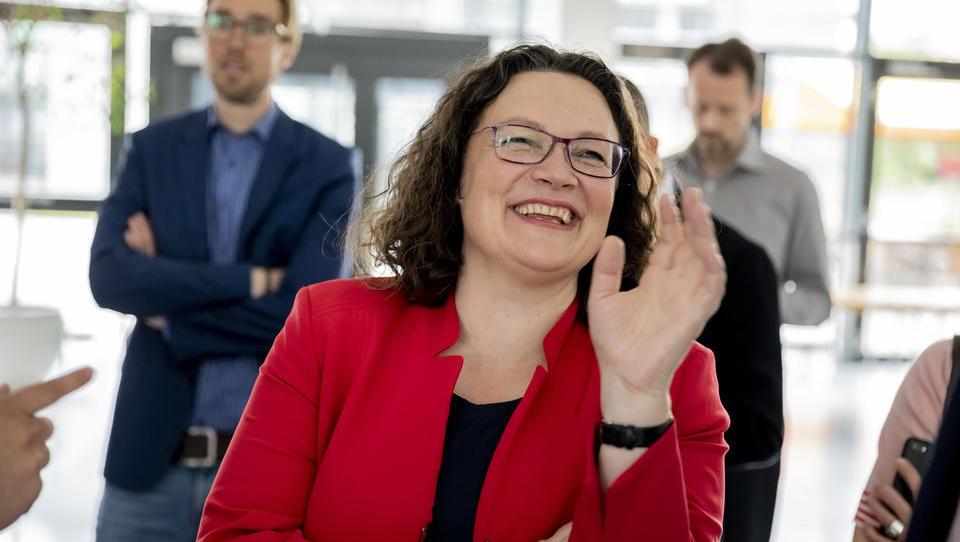 Andrea Nahles wird als Behörden-Chefin 180.000 Euro verdienen