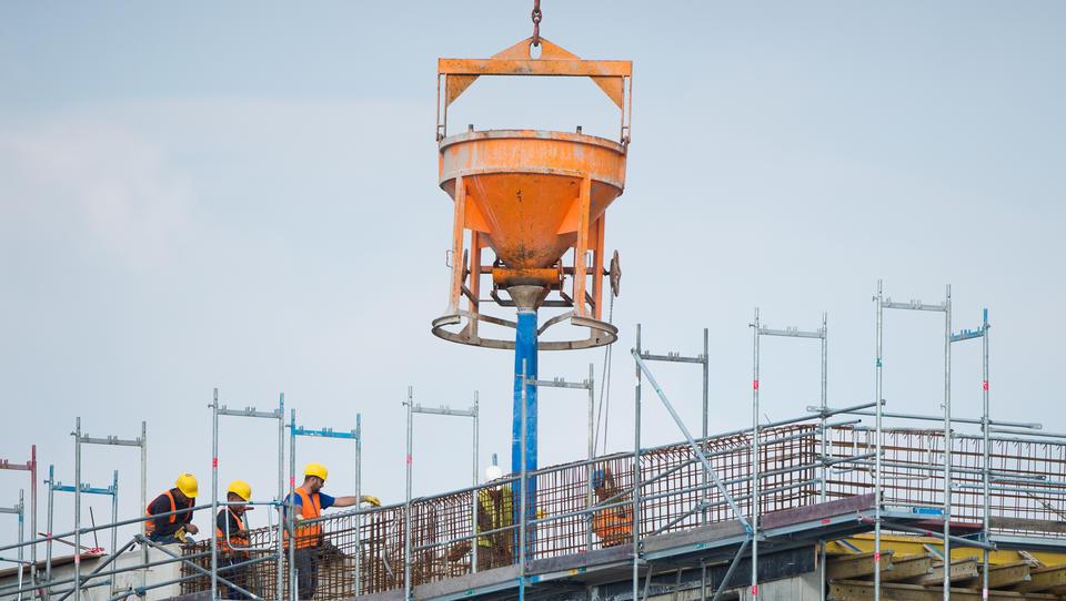 Bauindustrie geht mit vollen Auftragsbüchern ins Jahr 2020
