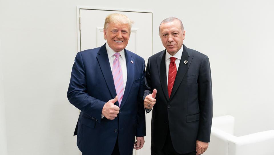 """Trump an Erdogan: """"Seien Sie kein harter Kerl, seien Sie kein Narr"""""""