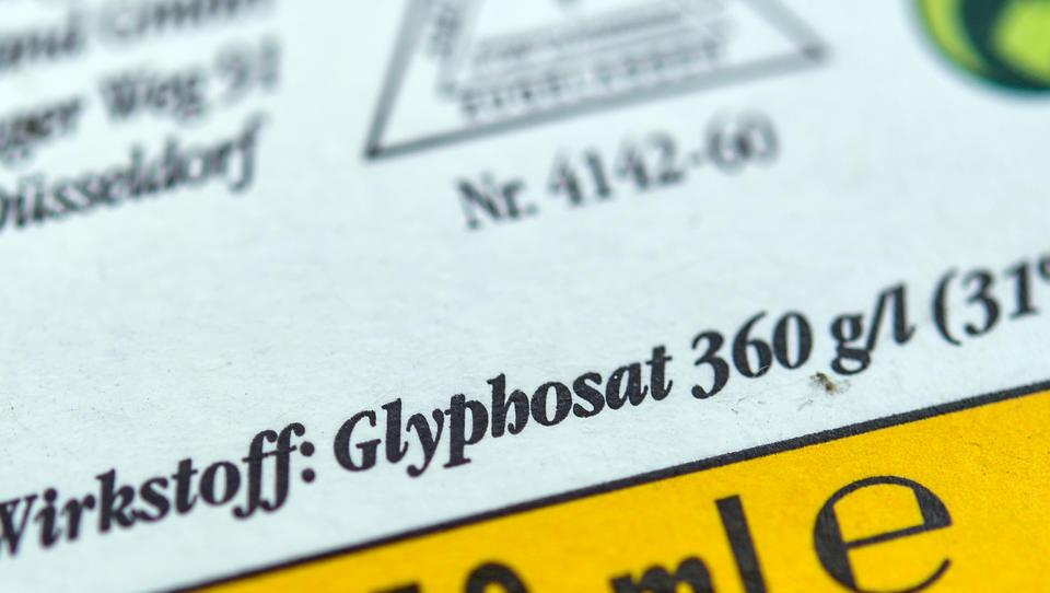 Bundesregierung wird Glyphosat komplett verbieten