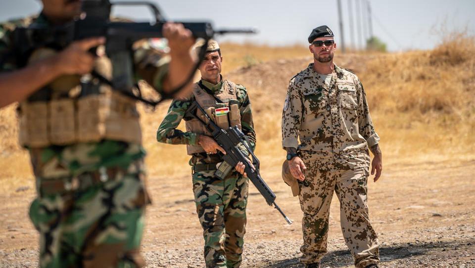 Bundeswehr verschärft Sicherheitsmaßnahmen für Truppen im Irak