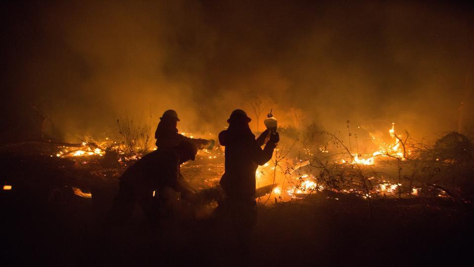 Boliviens Regierung entfacht massive Waldbrände