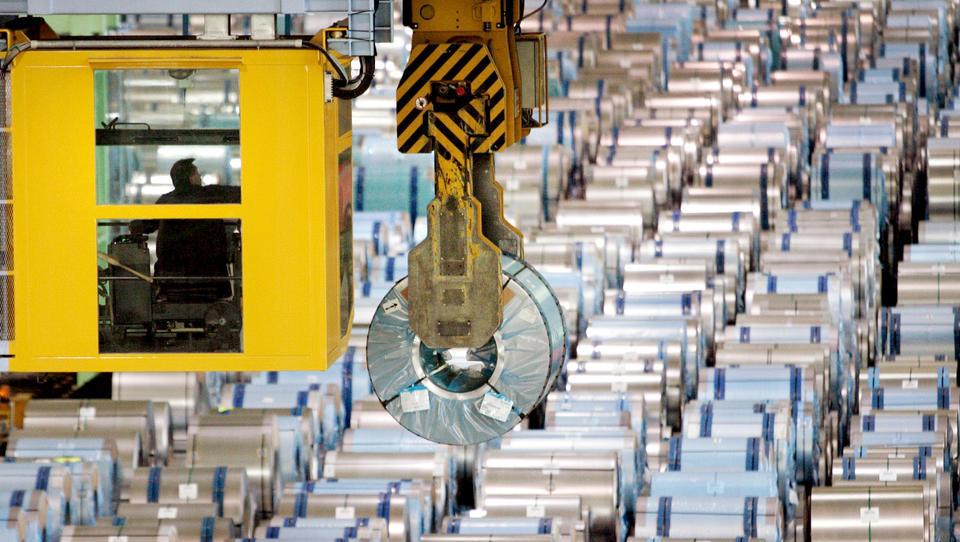 Deutsche Industrie erleidet massiven Auftragsrückgang