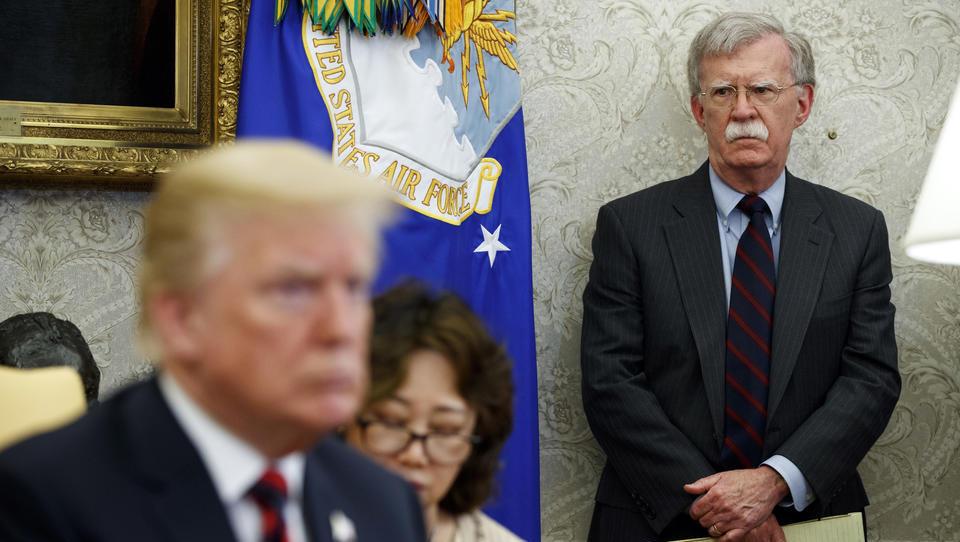 Trump entlässt überraschend Sicherheitsberater Bolton