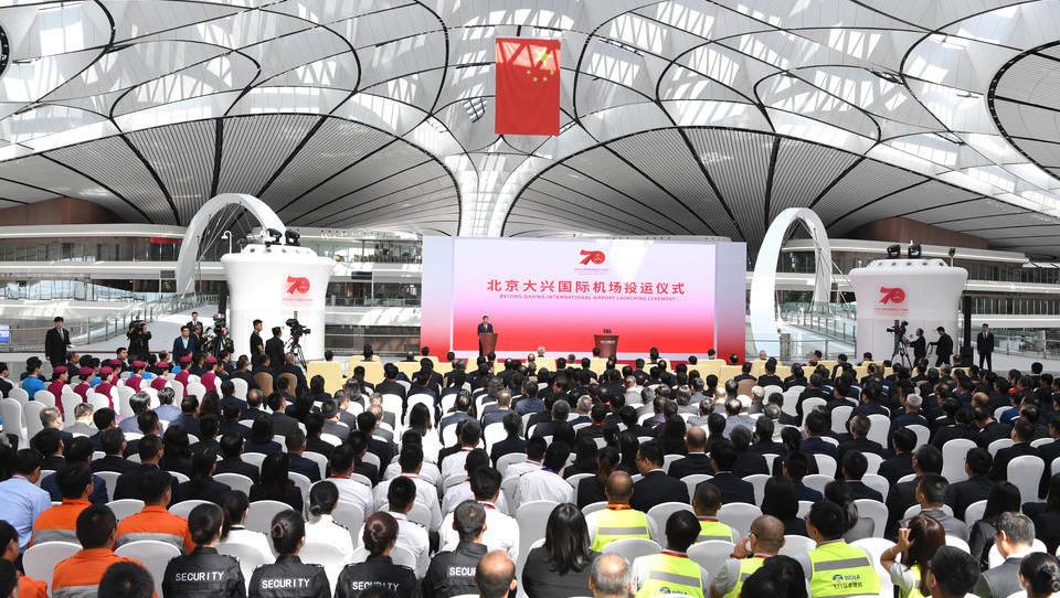 Peinlicher Vergleich mit dem BER: China weiht riesigen Hauptstadt-Flughafen ein