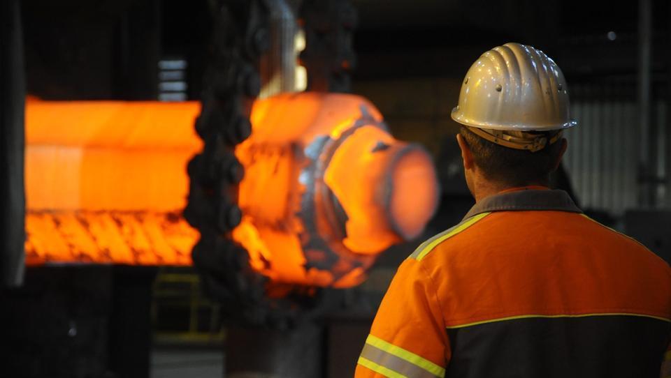 Auf Deutschlands Stahlindustrie kommen Stellenstreichungen zu