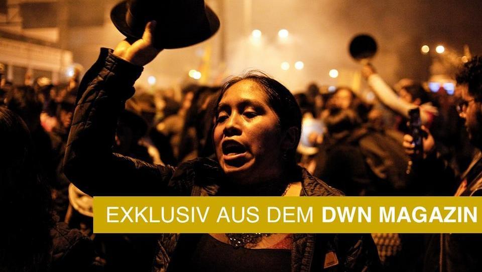 Südamerika: Ein Kontinent steht in Flammen