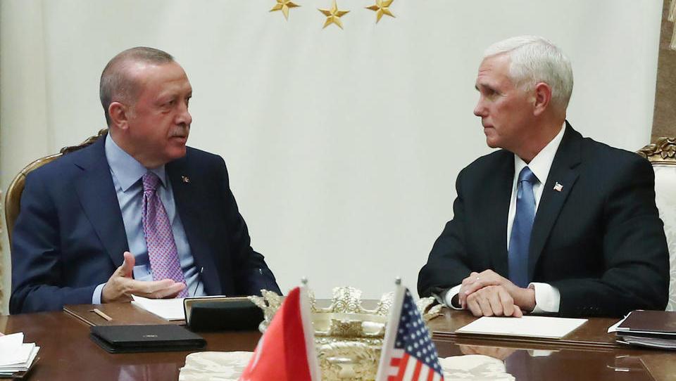 USA und Türkei verkünden brüchige fünftägige Waffenruhe für Nordsyrien