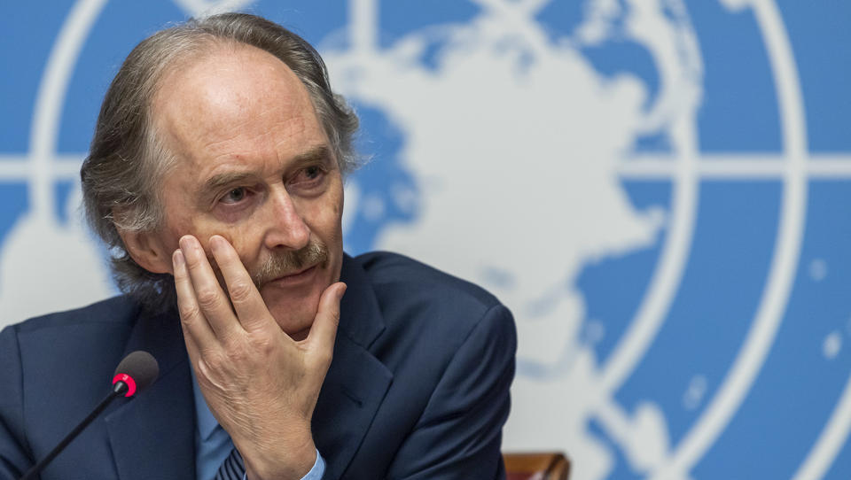 UN-Syrienvermittler fordert wegen Coronavirus Waffenruhe