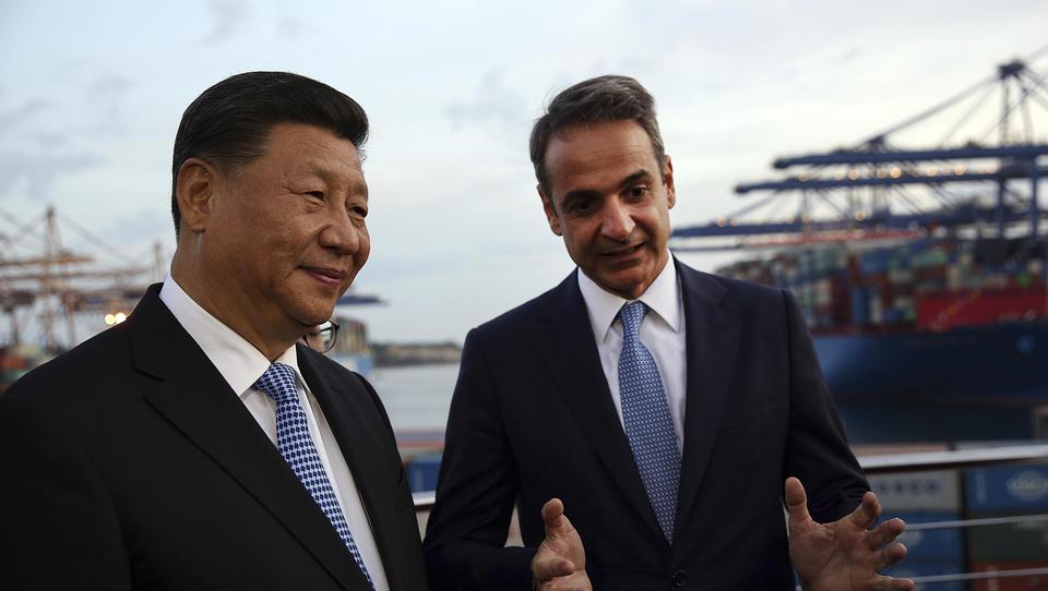 China baut Griechenland zum europäischen Brückenkopf der Neuen Seidenstraße auf