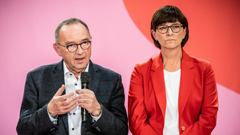 Ende der Großen Koalition? Unionsparteien beobachten Richtungskämpfe in der SPD