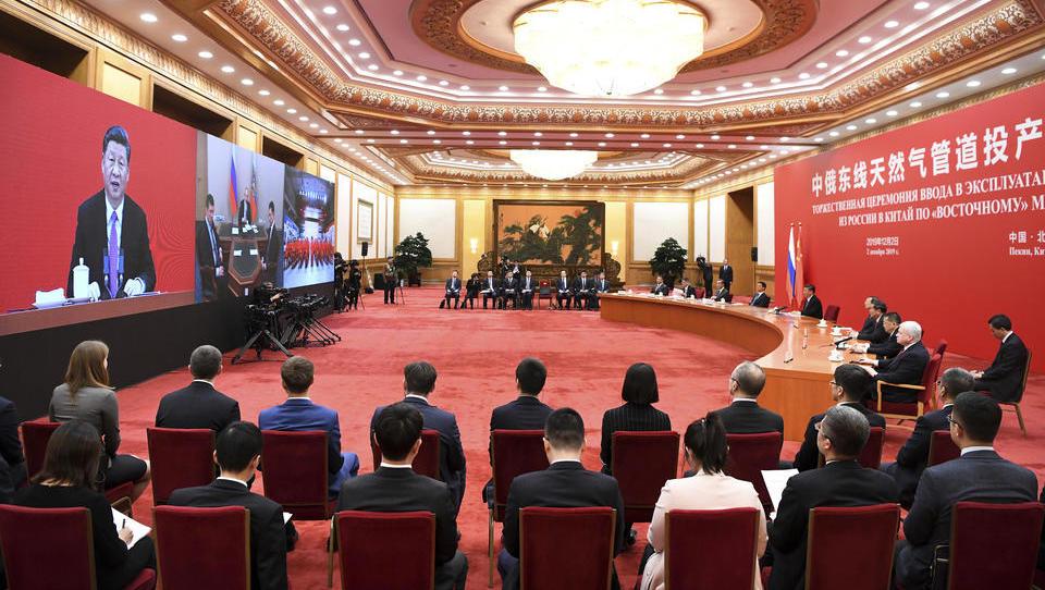 """Pipeline """"Kraft Sibiriens"""": Russland und China forcieren Zusammenarbeit auf dem Energiemarkt"""