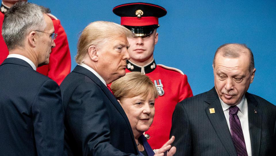Risse in der Nato: Erdogan blockiert Militärstrategie für Osteuropa