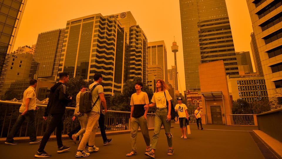 Sydney versinkt im Rauch: Feuerinferno steuert auf die Millionenstadt zu