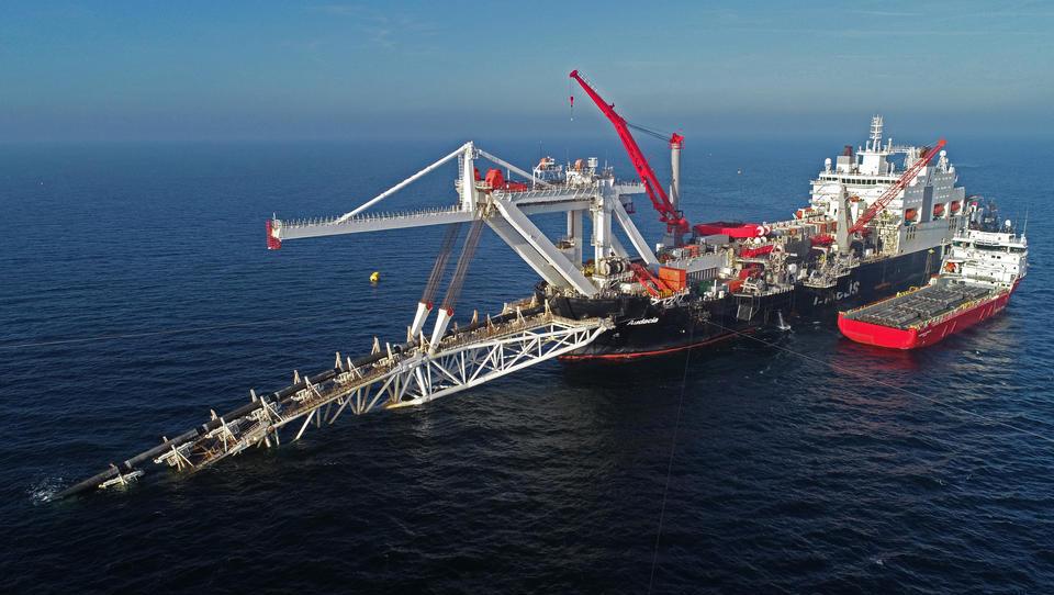 Nord Stream 2: Mit Verlegung der Rohre beauftragte Firma stellt Arbeiten ein