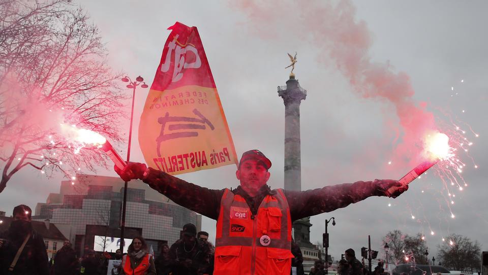 Frankreich: Neuer Massenprotest gegen die Rentenreform