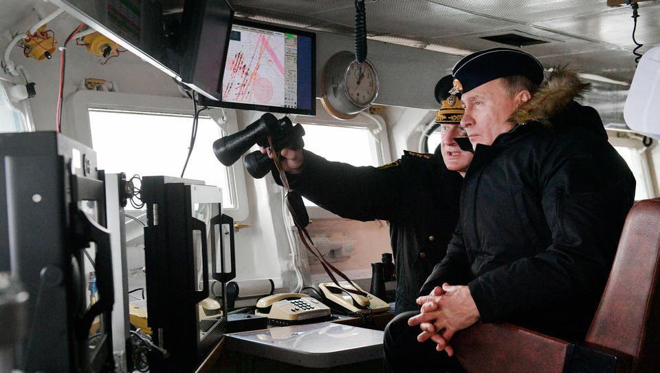 Russland und Syrien führen gemeinsames Manöver im Mittelmeer durch