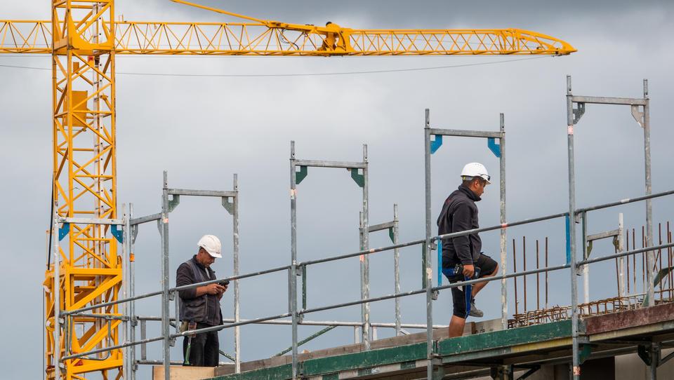 Niedrigster Anstieg der Baupreise seit drei Jahren